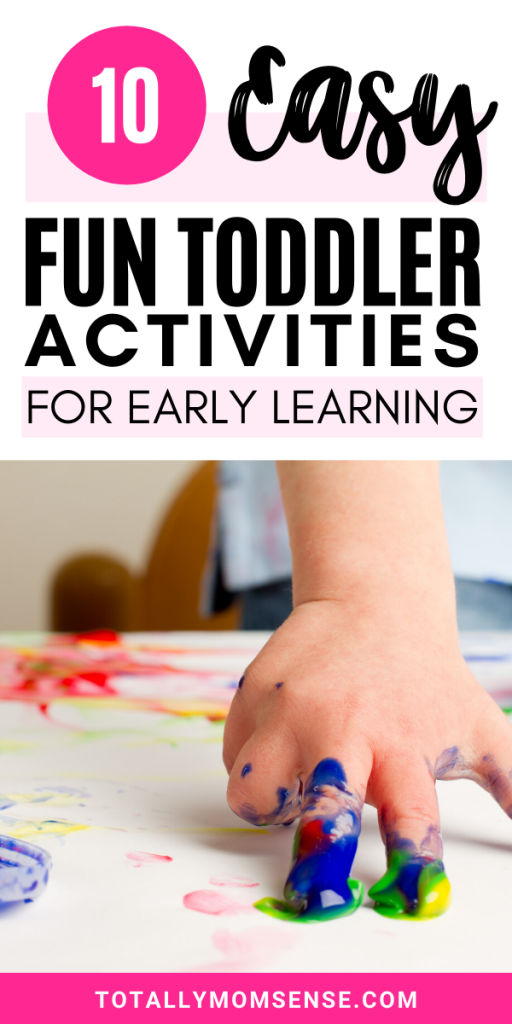 things to do with one year olds
